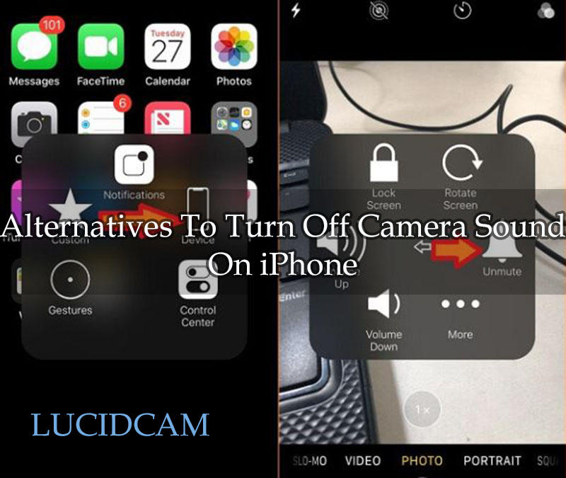 Alternatives To Turn Off Camera Sound On iPhone