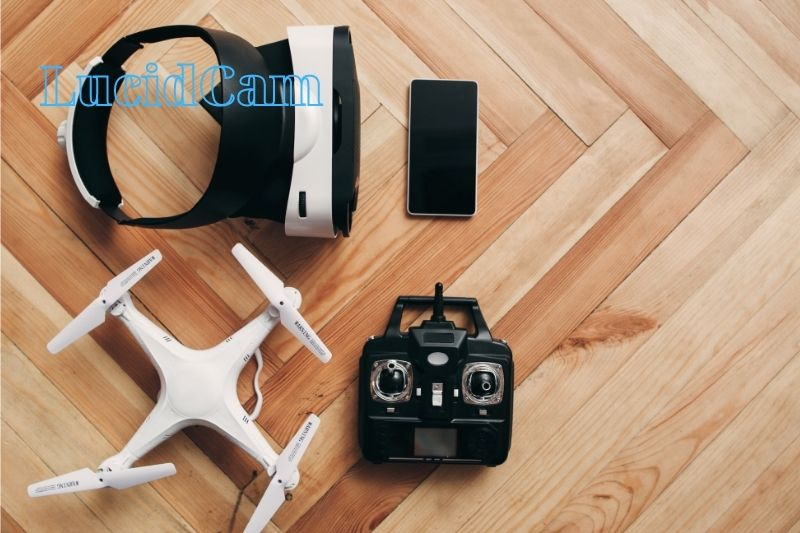 Connecting the drone to the controller using an app