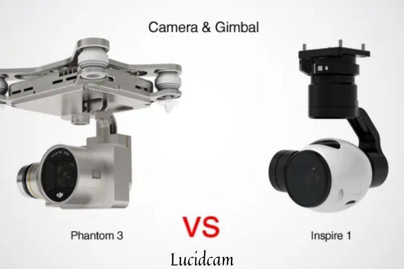 DJI Phantom 3 vs inspire 1