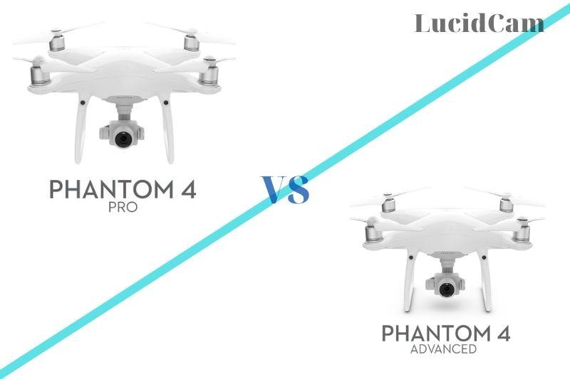 DJI Phantom 4 Pro vs advanced 1