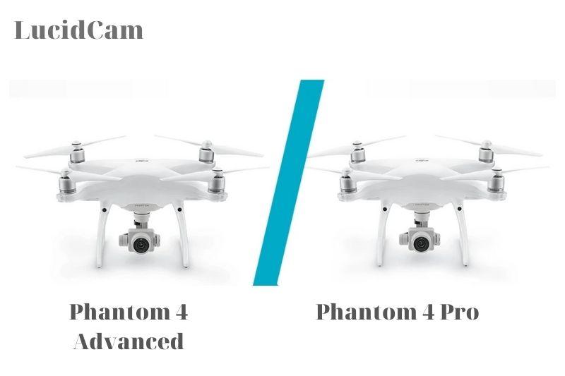 DJI Phantom 4 Pro vs advanced- Main differences