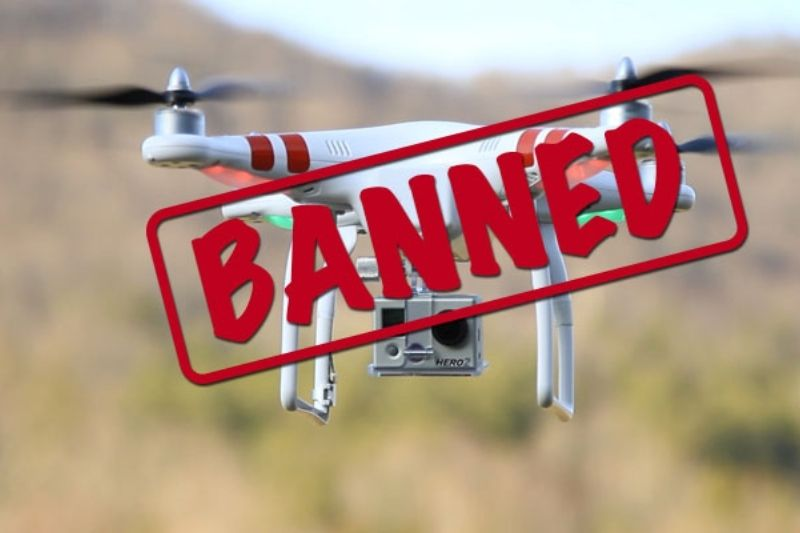 Banned drones