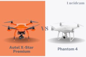 Autel x-star premium vs phantom 4