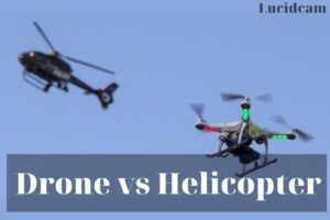 Drone vs helicopter